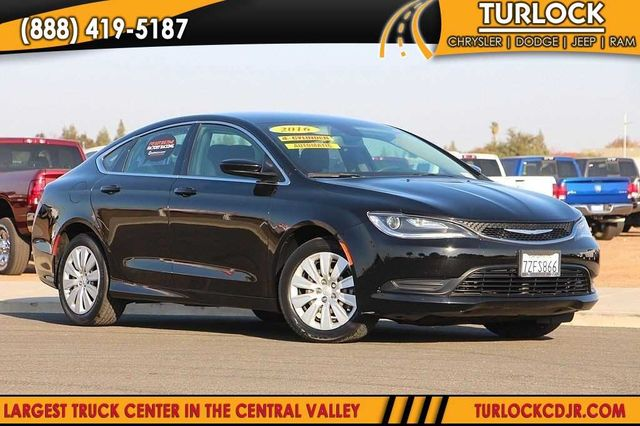 Certified Pre Owned 2016 Chrysler 200 Lx