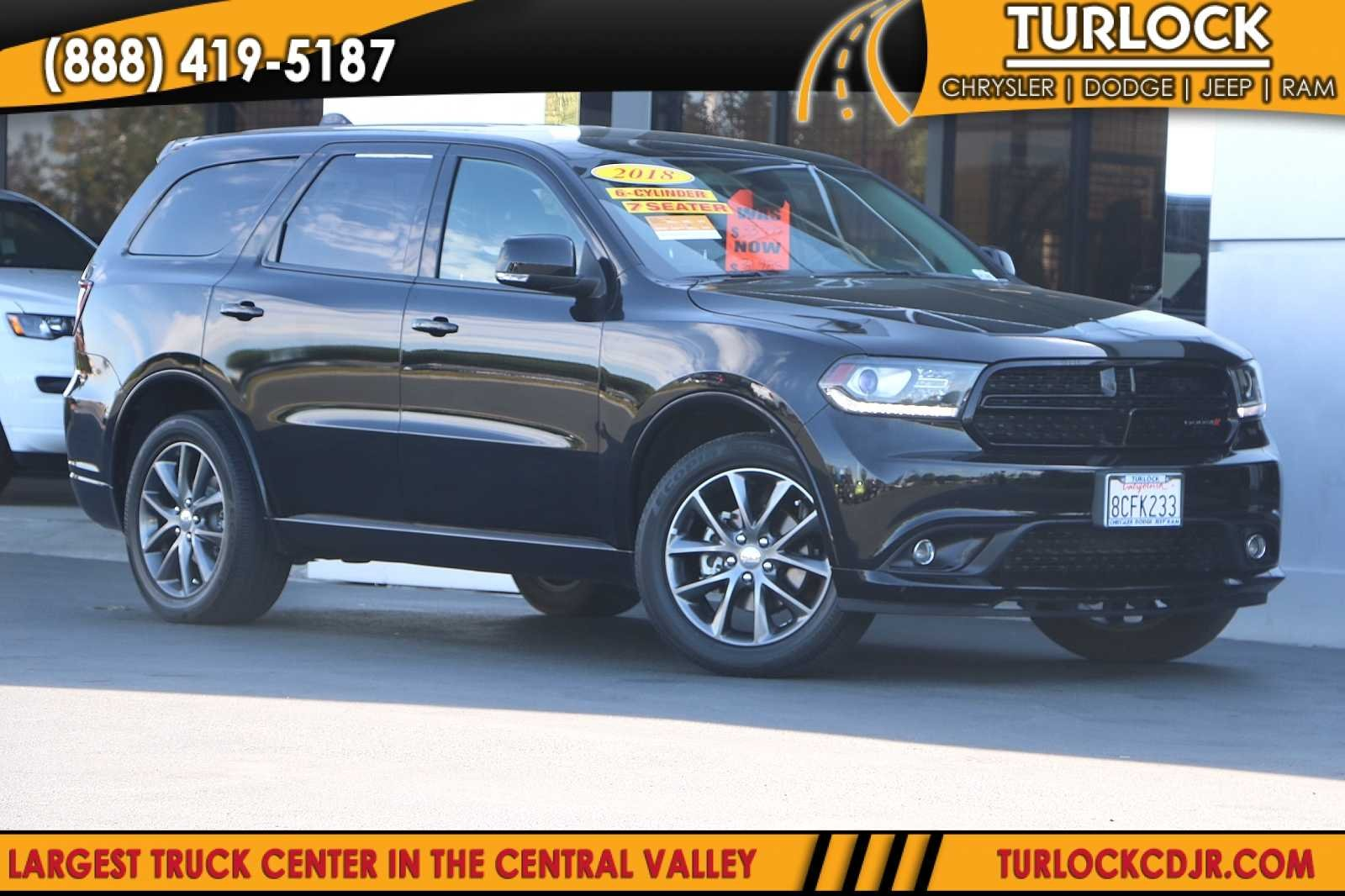 Certified Pre-Owned 2018 Dodge Durango GT