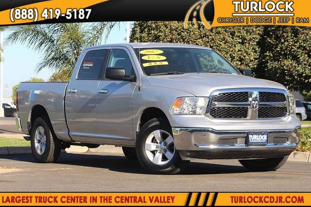 Certified Pre Owned 2017 Ram 1500 Slt 4x4 Crew Cab 149 In Wb