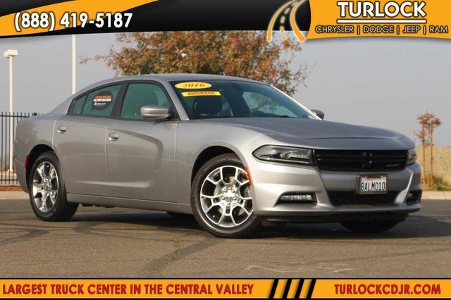 Pre Owned 2016 Dodge Charger Sxt 4d Sedan In Turlock N6437a