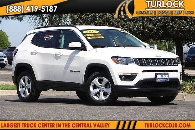 Certified Pre Owned 2017 Jeep Compass Latitude 4d Sport Utility In