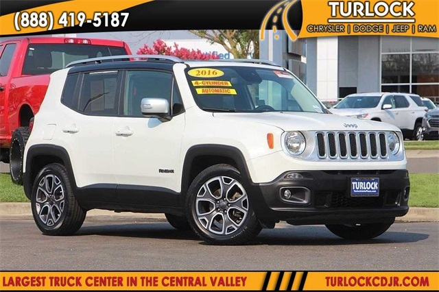 Certified Pre Owned 2016 Jeep Renegade Limited
